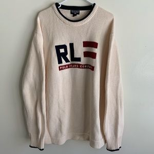 Vintage Ralph Lauren Polo knitted sweater XL